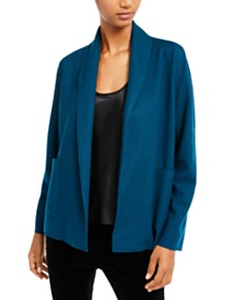 Eileen Fisher Wool -Collar Jacket, Regular & Petite