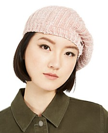 Solid Chenille Beret