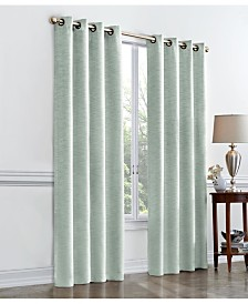 Regal Home Hayden Textured Room Darkening Grommet Curtain