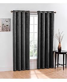 Chevron Blackout 2-Pack Grommet Curtain