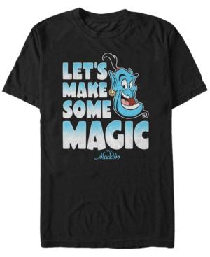 Disney Men's Aladdin Make Some Magic Short Sleeve T-Shirt
