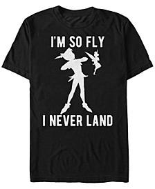 Disney Men's Peter Pan I'm So Fly Short Sleeve T-Shirt