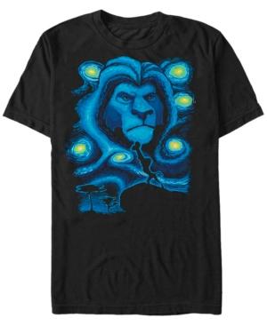 Mufasa Starry Night Short Sleeve T-Shirt