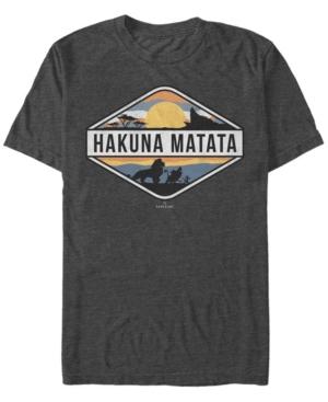 Hakuna Matata Emblem Short Sleeve T-Shirt