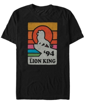 Pride Rock Retro Line Art Poster Short Sleeve T-Shirt
