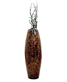 "Antique Style Floor Vase, 36"" Tall"