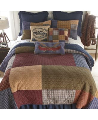 Lakehouse Cotton Quilt Collection, Twin