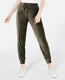 Juniors' Corduroy Jogger Pants