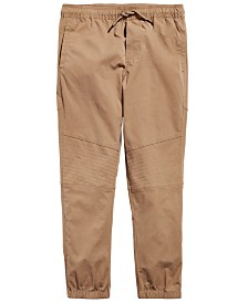 Univibe Big Boys Beartooth Stretch Moto Joggers