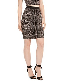 Kingdom Stripe Mirage Skirt