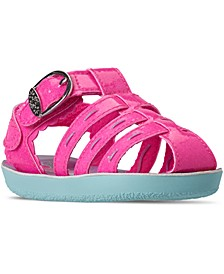 Toddler Girls Buttercups Shimmer Brights Fashion Sandals from Finish Line