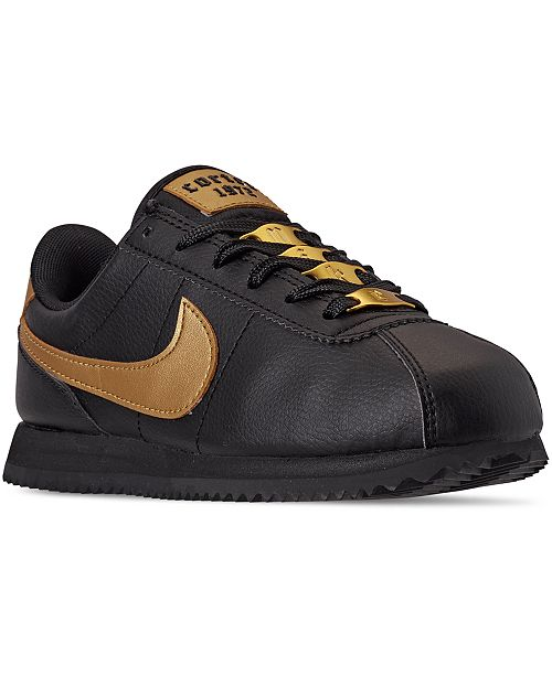 Nike Big Girls Cortez Basic SL VTF Casual Sneakers from Finish Line
