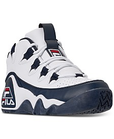 Fila Boys Grant Hill 1 Mid Top Basketball Sneakers from Finish Line