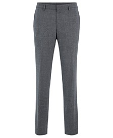 BOSS Men's Gains Slim-Fit Virgin Wool Trousers