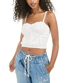 Free People All I Want Corset Camisole