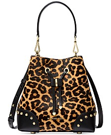 Michael Michael Kors Mercer Gallery Convertible Bucket Shoulder Bag