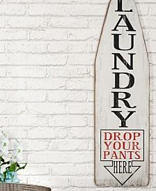 "VIP Home International Wood ""Laundry"" Sign"