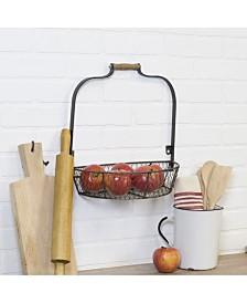 VIP Home International Metal Wall Basket