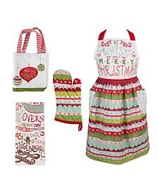 Design Imports Cozy Christmas Kitchen Set