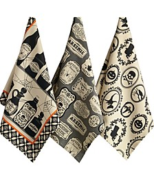 Assorted Hocus Pocus Printed Dishtowel Set