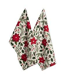 Design Imports Woodland Christmas Dishtowel Set