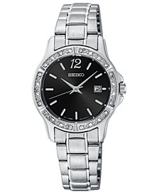 Women's Stainless Steel Bracelet Watch 28mm