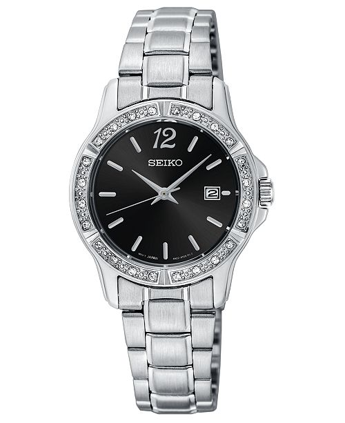 Seiko Women's Stainless Steel Bracelet Watch 28mm