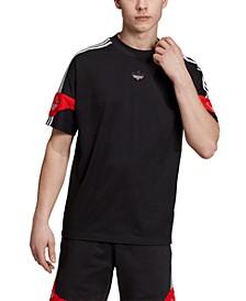 adidas Men's Originals Colorblocked Soccer T-Shirt