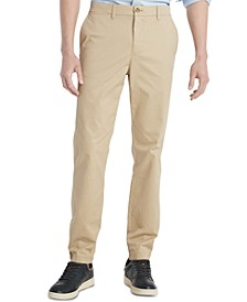 Men's TH Flex Stretch Slim-Fit Chino Pants, Created for Macy's