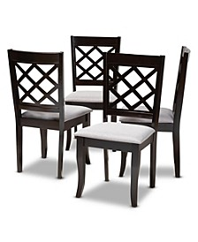 Verna Dining Chair, Quick Ship (Set of 4)