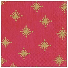 Starry Berry Paper Cocktail Napkin