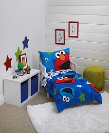 Sesame Street Toddler Bedding & Decor Collection