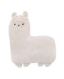Sherpa Llama Decorative Pillow