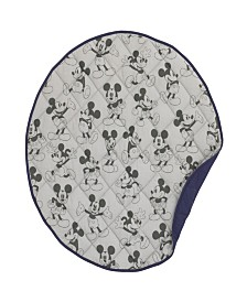 Disney Mickey Mouse Round Quilted Blanket