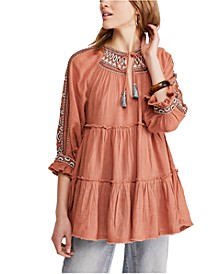 Dreamweaver Embroidered Tunic Top