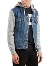 Levi's® Men's Hybrid Hooded Trucker Jacket