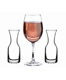 Lillian Rose Unity Wine Ceremony Glass and 2 Carafes