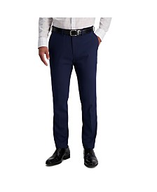 Louis Raphael Comfort Stretch Sharkskin Slim Fit Flat Front Dress Pant