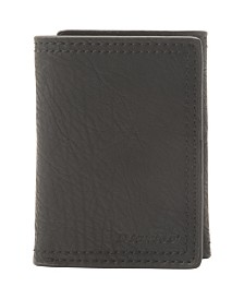 Dickies Men's Leather Trifold Wallet