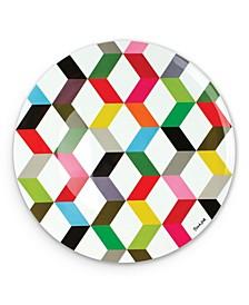 "15.5"" Ziggy Round Platter"