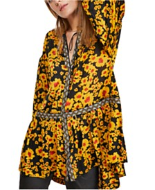 Free People Love Letter Tunic Top