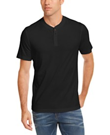 Club Room Men's Solid Henley, Created for Macy's