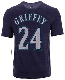 Majestic Men's Ken Griffey Jr. Seattle Mariners Classic Coop Player T-Shirt