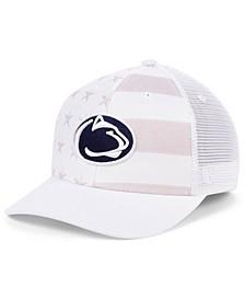 Penn State Nittany Lions Sub Flag Trucker Cap