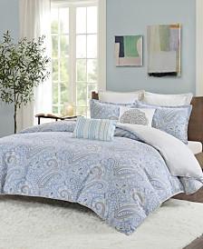 Echo Design Bukhara Twin 2 Piece Reversible Cotton Comforter Set