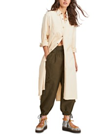 Free People Fearless Maxi Shirt