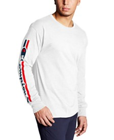 Champion Men's Logo Long-Sleeve T-Shirt