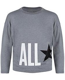 Converse Big Girls All Star Dolman-Sleeve Top