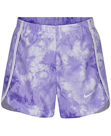 Little Girls Tie-Dyed Dri-FIT Shorts