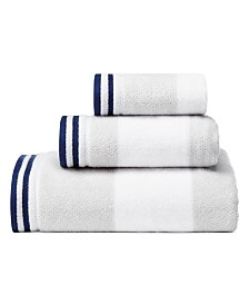 Nautica Santee Grey 3-Pc. Towel Set
